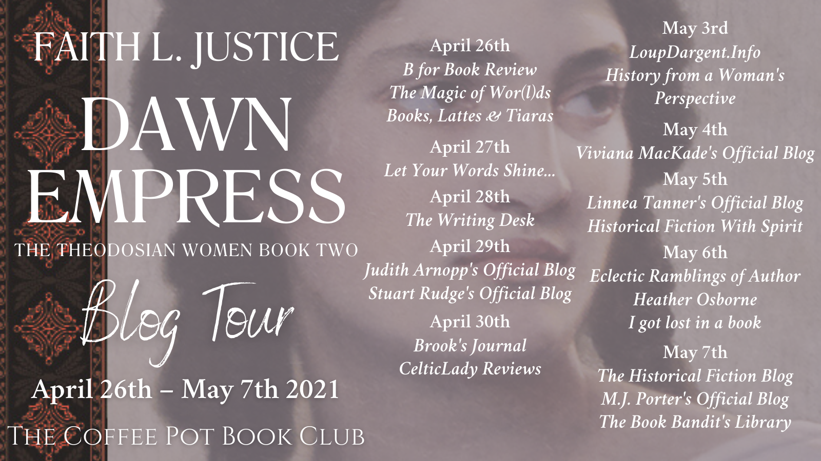 Dawn Empress Tour Schedule Banner