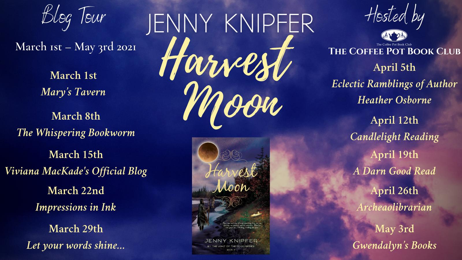 Harvest Moon Tour Schedule Banner