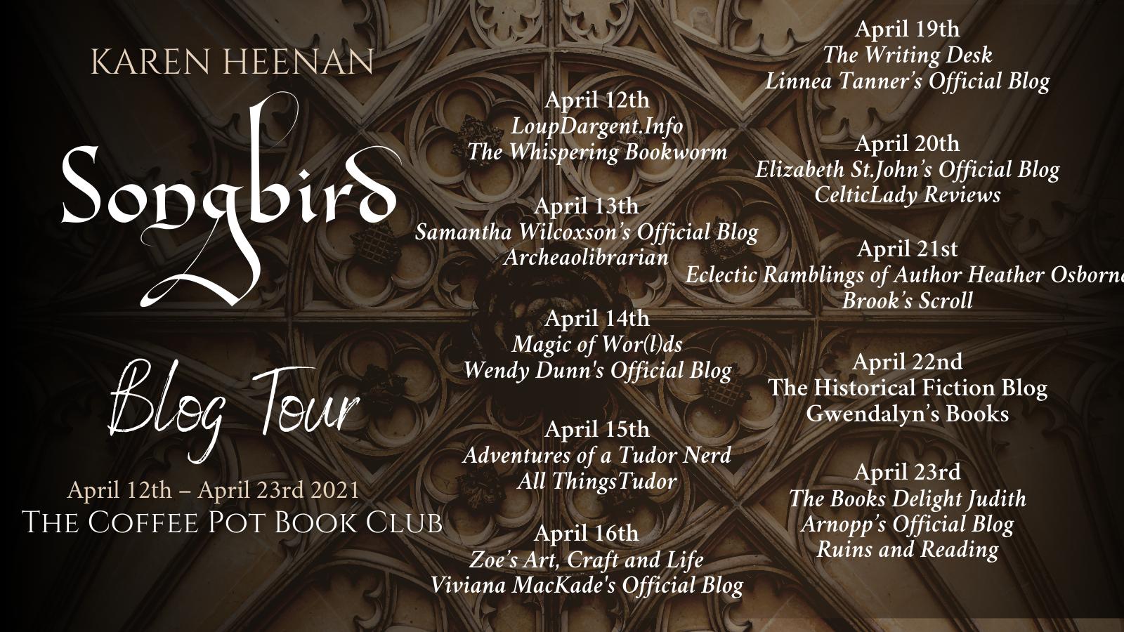 Songbird Tour Schedule
