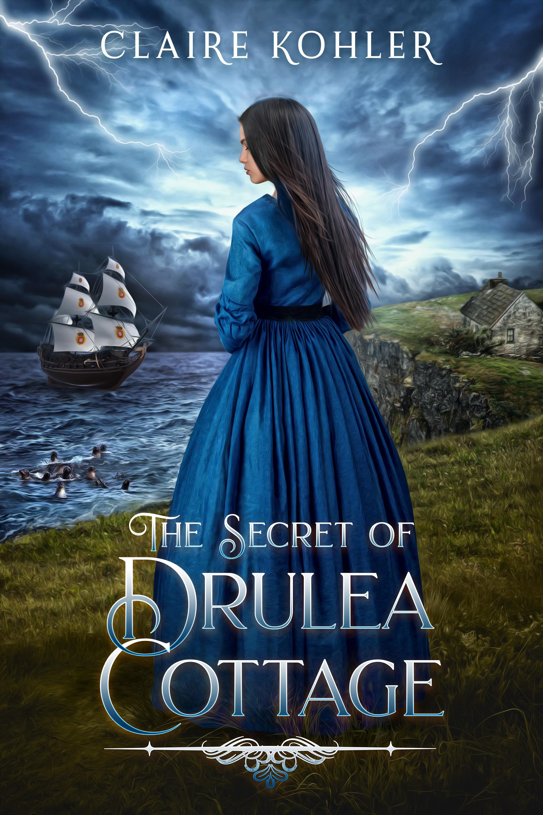 BookCover_The Secret of Drulea Cottage
