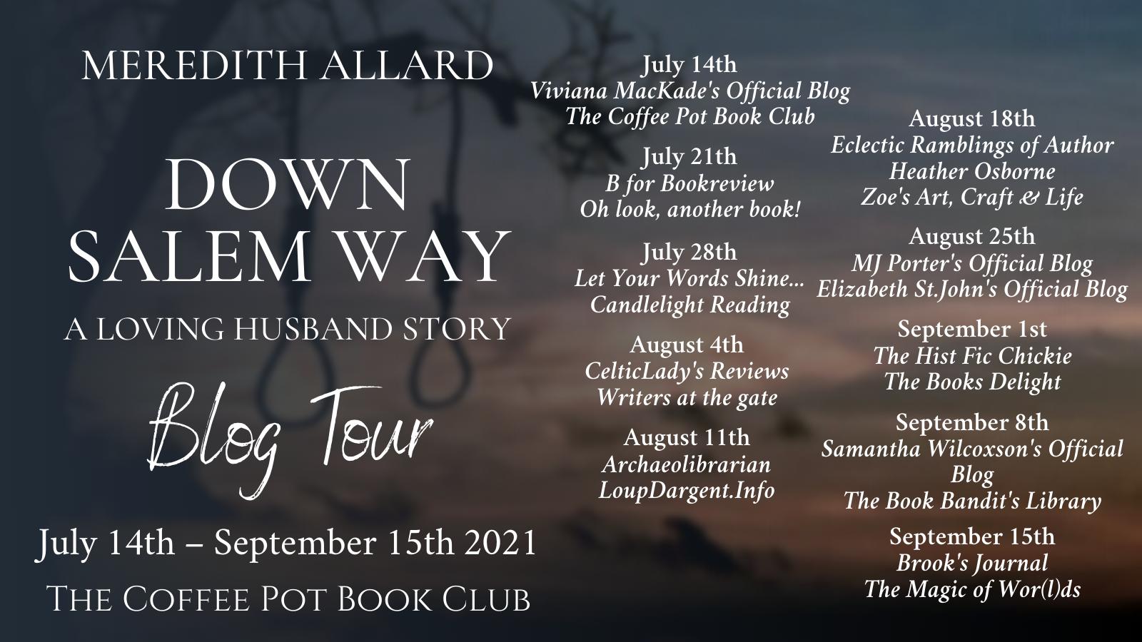 Down Salem Way Tour Schedule Banner