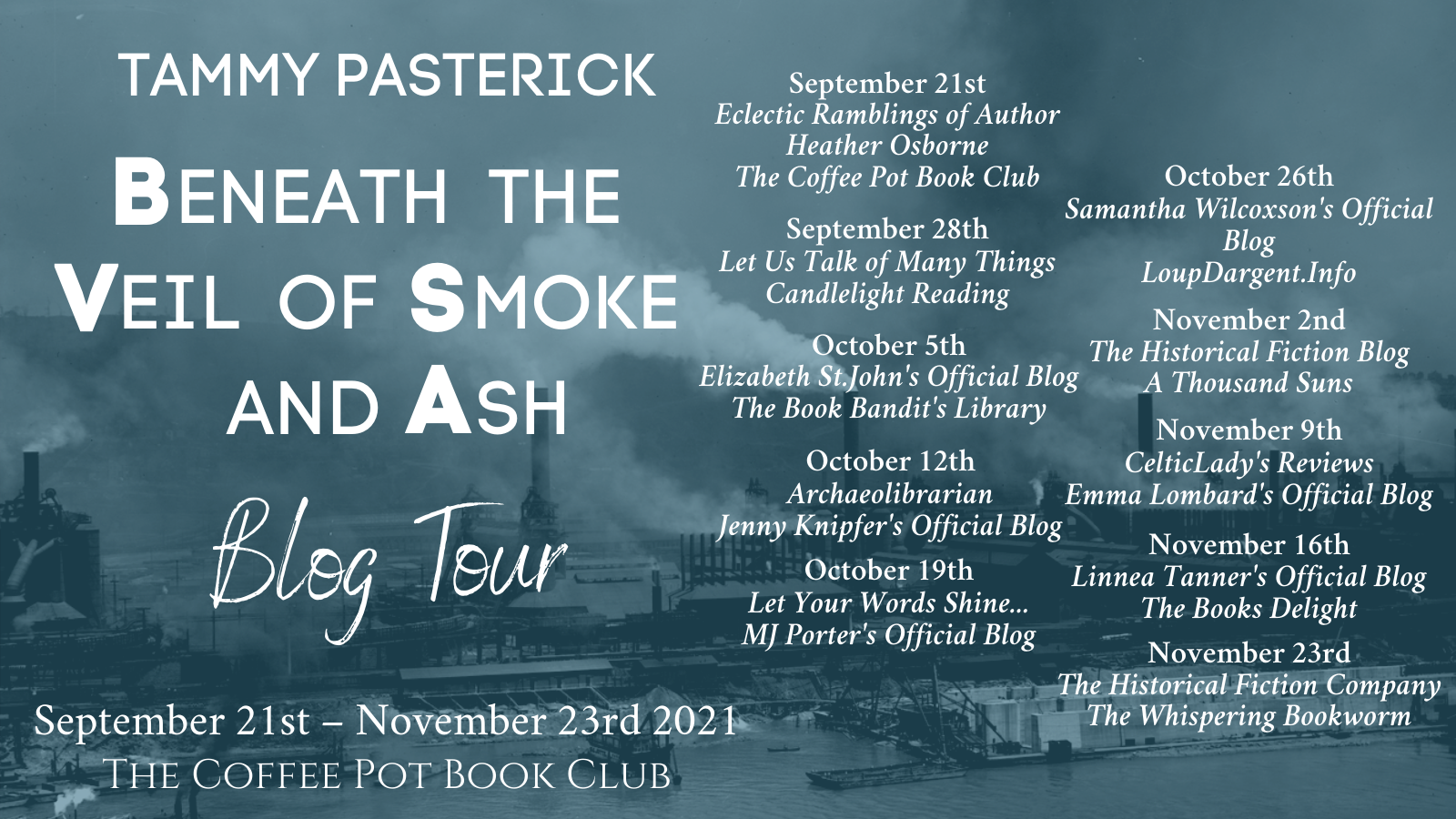 Beneath The Veil of Smoke and Ash Tour Schedule Banner