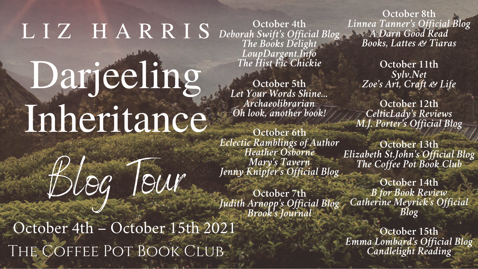 Darjeeling Inheritance Tour Schedule Banner (1)
